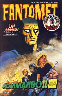 Cover Thumbnail for Fantomet (Semic, 1976 series) #15/1984