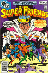 Cover Thumbnail for Super Friends (DC, 1976 series) #25 [Whitman Edition]
