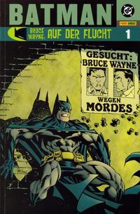 Cover Thumbnail for Batman: Bruce Wayne - Auf der Flucht (Panini Deutschland, 2003 series) #1