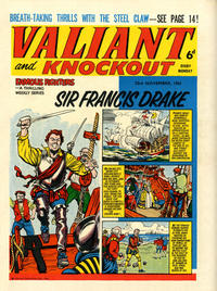 Cover Thumbnail for Valiant and Knockout (IPC, 1963 series) #23 November 1963