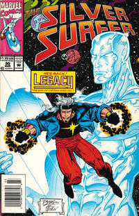 Cover Thumbnail for Silver Surfer (Marvel, 1987 series) #90 [newsstand]
