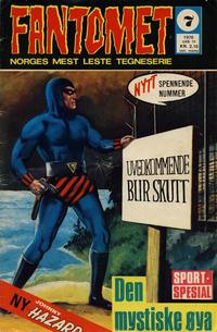 Cover Thumbnail for Fantomet (Romanforlaget, 1966 series) #7/1970