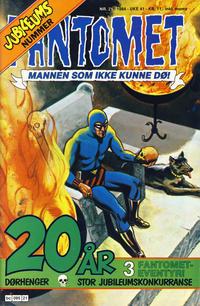 Cover Thumbnail for Fantomet (Semic, 1976 series) #21/1984