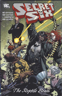 Cover Thumbnail for Secret Six: The Reptile Brain (DC, 2011 series)