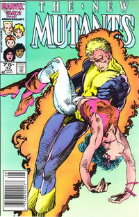 Cover Thumbnail for The New Mutants (Marvel, 1983 series) #42 [newsstand]