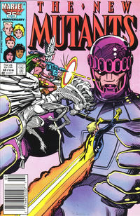 Cover Thumbnail for The New Mutants (Marvel, 1983 series) #48 [Newsstand Edition]