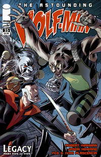 Cover Thumbnail for The Astounding Wolf-Man (Image, 2007 series) #25