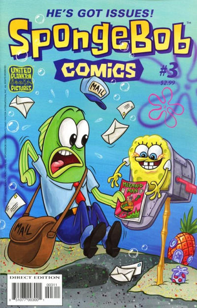 Cover for SpongeBob Comics (United Plankton Pictures, Inc., 2011 series) #3