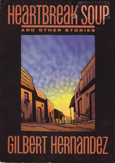Cover for Heartbreak Soup and Other Stories (Fantagraphics, 1987 series)