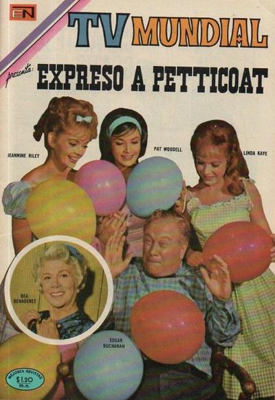 Cover for TV Mundial (Editorial Novaro, 1962 series) #172