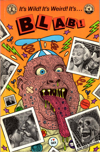 Cover for Blab! (Kitchen Sink Press, 1988 series) #4