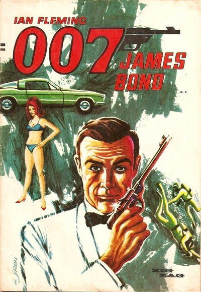 Cover for 007 James Bond (Zig-Zag, 1968 series) #1