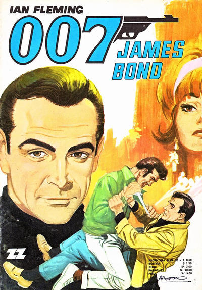 Cover for 007 James Bond (Zig-Zag, 1968 series) #43