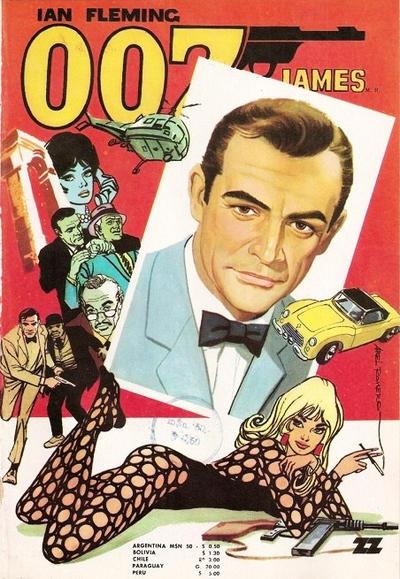 Cover for 007 James Bond (Zig-Zag, 1968 series) #42