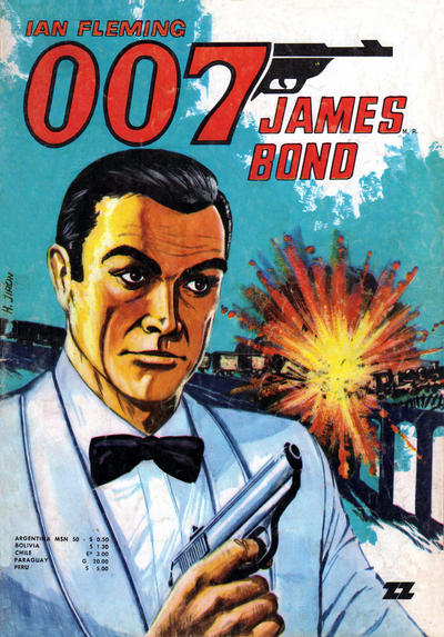 Cover for 007 James Bond (Zig-Zag, 1968 series) #41