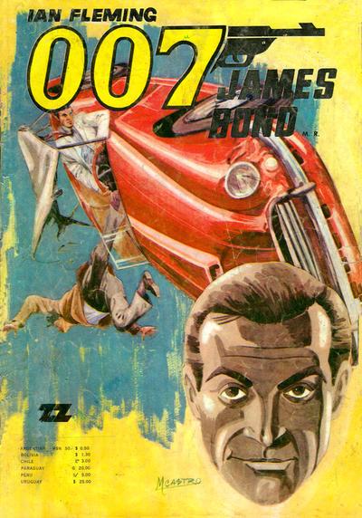 Cover for 007 James Bond (Zig-Zag, 1968 series) #32