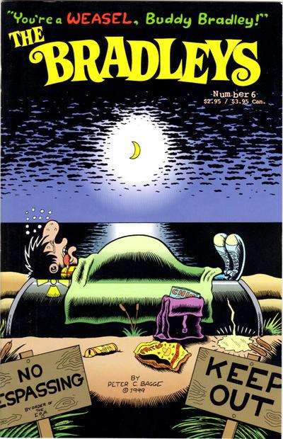 Cover for The Bradleys (Fantagraphics, 1999 series) #6