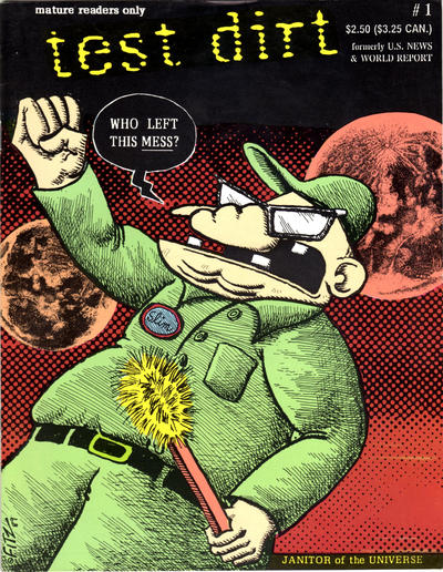 Cover for Test Dirt (Fantagraphics, 1991 series) #1