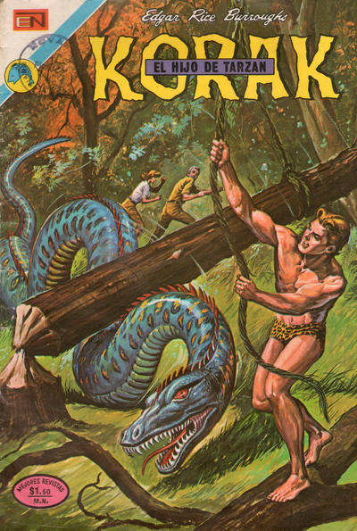 Cover for Korak (Editorial Novaro, 1972 series) #10