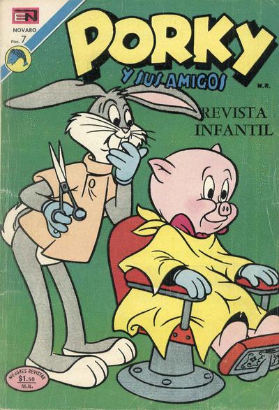Cover for Porky y sus Amigos (Editorial Novaro, 1951 series) #301