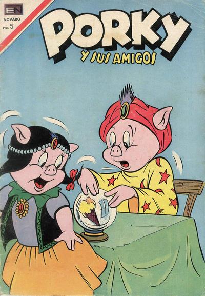 Cover for Porky y sus Amigos (Editorial Novaro, 1951 series) #194