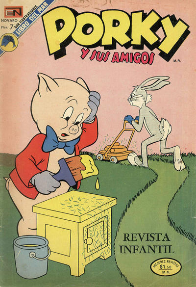 Cover for Porky y sus Amigos (Editorial Novaro, 1951 series) #321