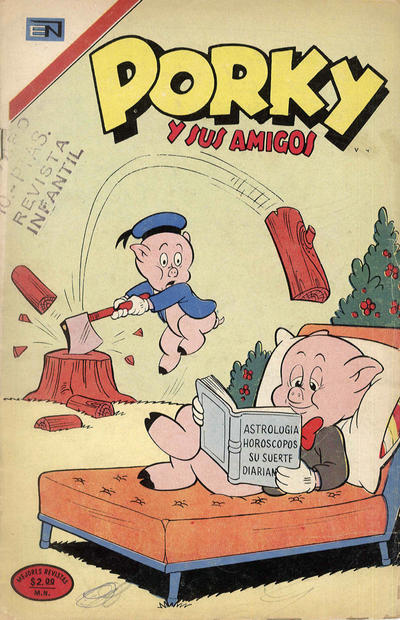 Cover for Porky y sus Amigos (Editorial Novaro, 1951 series) #335