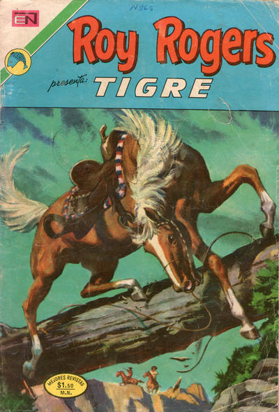 Cover for Roy Rogers (Editorial Novaro, 1952 series) #283