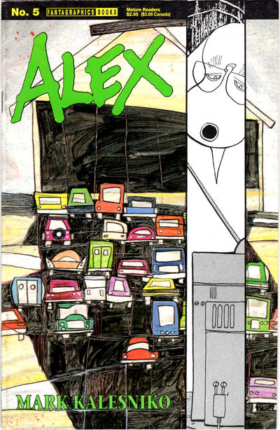 Cover for Alex (Fantagraphics, 1994 series) #5