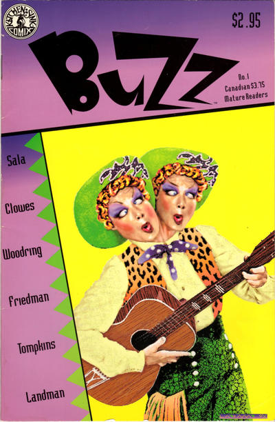 Cover for Buzz (Kitchen Sink Press, 1990 series) #1