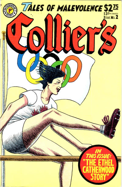 Cover for Collier's (Fantagraphics, 1991 series) #2