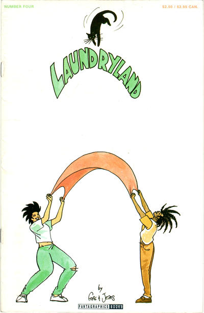 Cover for Laundryland (Fantagraphics, 1990 series) #4