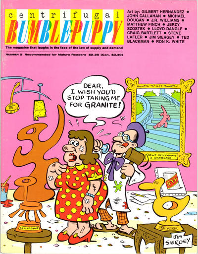 Cover for Centrifugal Bumble-Puppy (Fantagraphics, 1987 series) #2