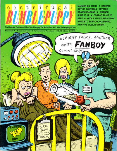 Cover for Centrifugal Bumble-Puppy (Fantagraphics, 1987 series) #7