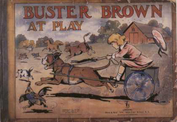 Cover for Buster Brown at Play (Cupples & Leon, 1915 series)