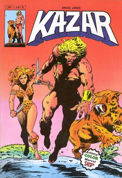 Cover for Ka-Zar (Arédit-Artima, 1982 series) #1
