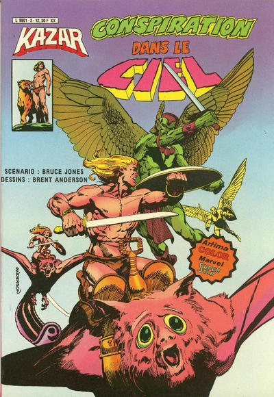 Cover for Ka-Zar (Arédit-Artima, 1982 series) #2