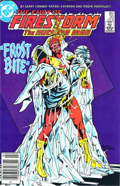 Cover for The Fury of Firestorm (DC, 1982 series) #20 [Direct]