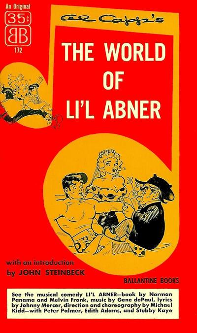 Cover for The World of Li'l Abner (Ballantine Books, 1952 series) #172