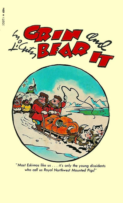Cover for Grin and Bear It (Pocket Books, 1970 series) #55073