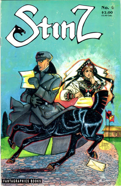 Cover for Stinz (Fantagraphics, 1989 series) #4