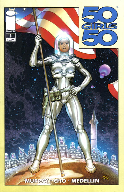 Cover for 50 Girls 50 (Image, 2011 series) #1