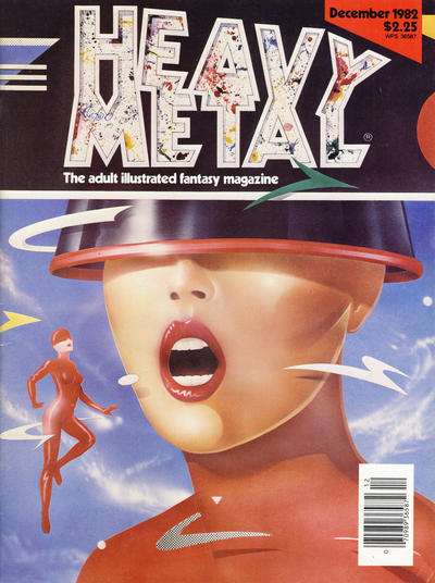 Cover for Heavy Metal Magazine (HM Communications, Inc., 1977 series) #v6#9 [Newsstand]