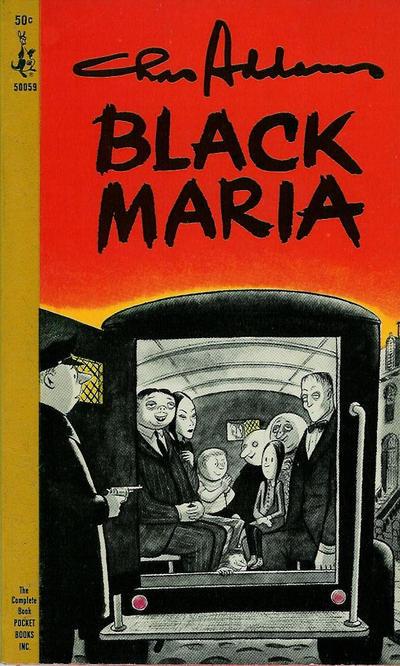 Cover for Black Maria (Pocket Books, 1964 series) #50059
