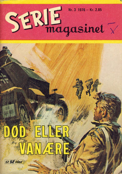 Cover for Seriemagasinet (Serieforlaget / Se-Bladene / Stabenfeldt, 1951 series) #3/1976