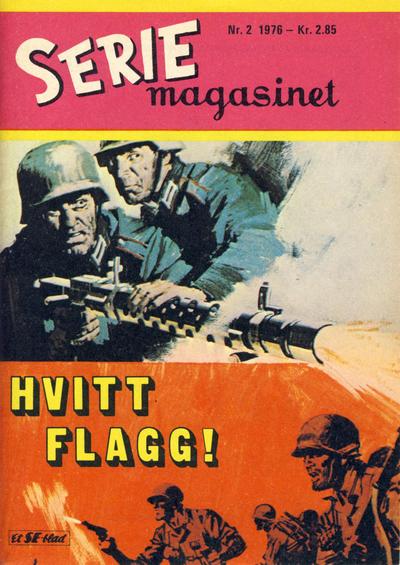 Cover for Seriemagasinet (Serieforlaget / Se-Bladene / Stabenfeldt, 1951 series) #2/1976