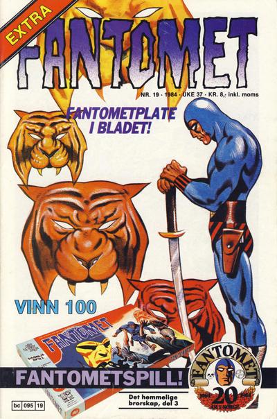 Cover for Fantomet (Semic, 1976 series) #19/1984
