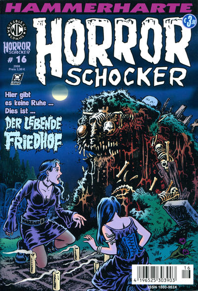 Cover for Horrorschocker (Weissblech Comics, 2004 series) #16
