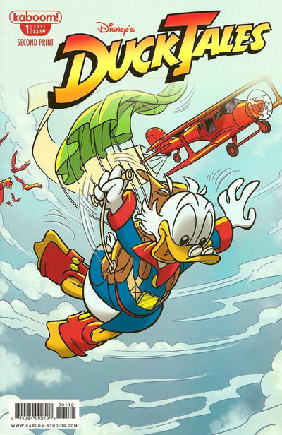 Cover for DuckTales (Boom! Studios, 2011 series) #1 [SDCC Exclusive]