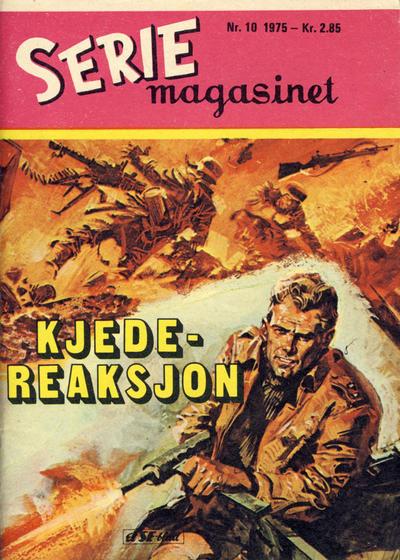 Cover for Seriemagasinet (Serieforlaget / Se-Bladene / Stabenfeldt, 1951 series) #10/1975